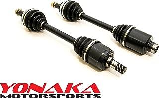 Yonaka Pair Acura Integra 94-01 GS-R Axles Driveshafts CV Joints B16 B18