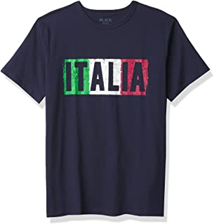 The Children's Place Boys' Italia Graphic Tee