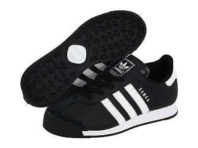 adidas Originals Kids Samoa (Big Kid) (Black/White/White) Kids Shoes