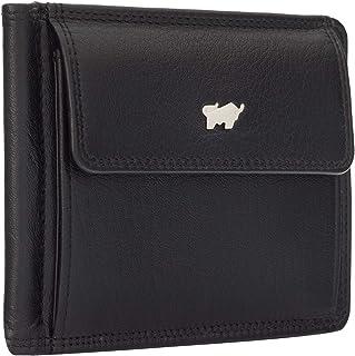 BRAUN BÜFFEL Geldbörse Golf 2.0 aus echtem Leder - 6 Fächer - schwarz