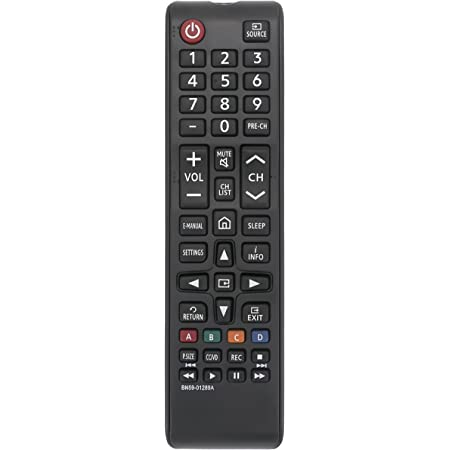 New BN59-01289A Replace Remote fit for Samsung 6 Series MU6290 Smart 4K UHD TV UN40MU6290 UN43MU6290 UN49MU6290 UN50MU6290 UN55MU6290 UN65MU6290 UN75MU6290 UN40MU6290FXZA UN43MU6290F TM1240A MU6070