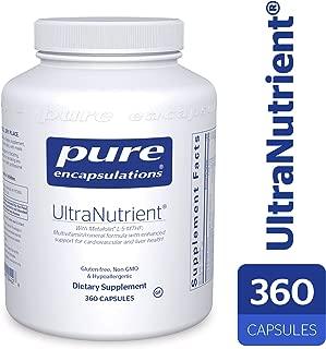 Pure Encapsulations - UltraNutrient - Hypoallergenic Multivitamin/Mineral Complex with Advanced Antioxidants - 360 Capsules