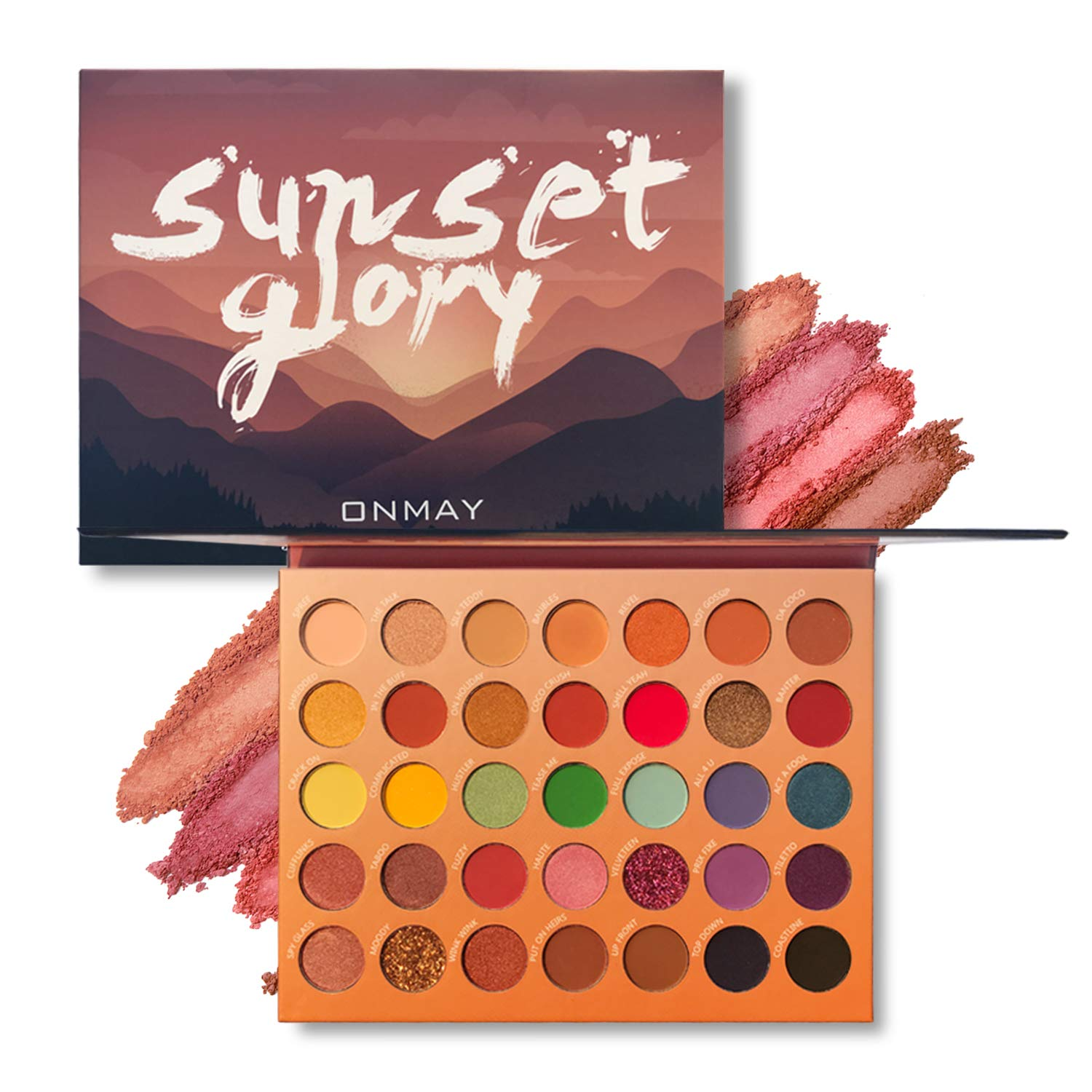 Pro 1 year warranty 35 Color Eyeshadow Palette Eye Onmay Shadow Matte Shimmer Lowest price challenge
