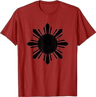 Philippines T Shirt Filipino Vintage Sun Tee Pinoy Pinay