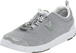 Propét Womens Travel Walker 2 Low Top Bungee Walking Shoes