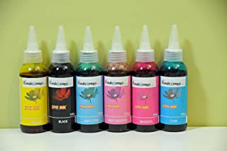 INKXPRO 600ml High Definition Photo dye Ink Refill Set for CIS/CISS or refillable cartridges Using T79 Ink: Stylus Photo Printers 1400, 1410, Artisan 1430