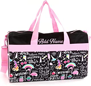 Pageant Bag Dance Bag Monogrammed Duffle Cheer Bag Personalized Duffle Bag Girls Duffel Bag Light Pink Glitter 20\u201d Glitter Bag