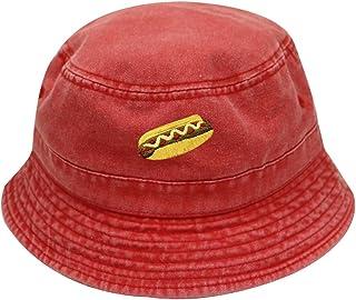 4fea0e13b0c1a City Hunter Bd2020 Hotdog Washed Cotton Bucket Hats - Multi Colors