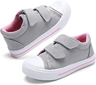 nerteo Toddler Boys & Girls Shoes Kids Canvas Sneakers
