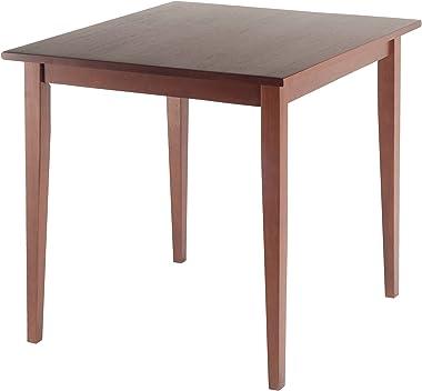 Winsome Wood Groveland carré Table de salle à manger en noyer vieilli