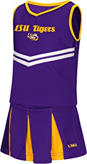 Colosseum NCAA Toddler-Girls Team Cheer Set-Sizes 2T 3T 4T 5T