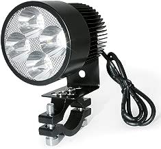 Zramo 20W High Power 2000LM Led Motorcycle Headlight Lamp Motorbike Led Spot Light for Street Bike Bicycles Motorcycles Motorcycle Rider Cars Trucks Boat Using