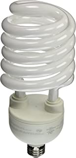 TCP CFL SpringLamp 300W Equivalent, Soft White (2700K) Spiral Light Bulb