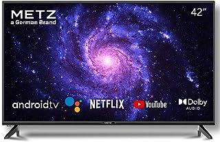 Televisión 42 Pulgadas Smart TV METZ 42MTC6000 Android TV 9,0 sin Marco Google Asistente Control Remoto por Voz 2 años de ...