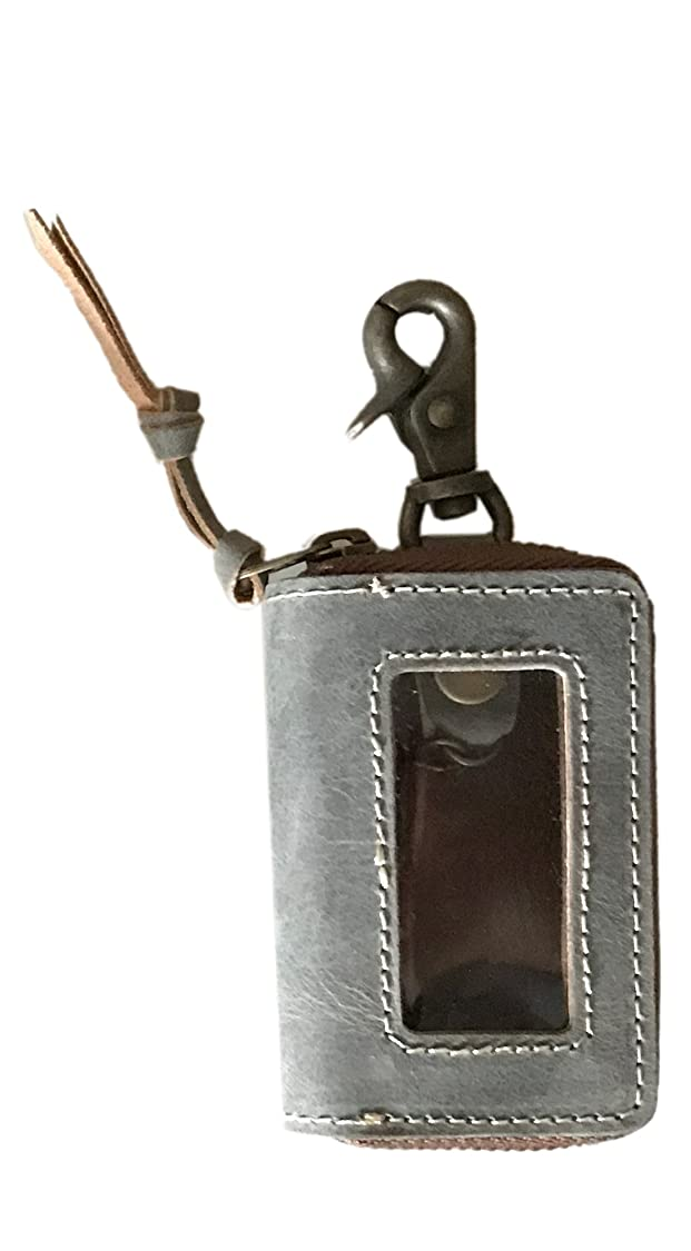 作曲家心理学咽頭[ Ain Soph アインソフ ] ラウンドファスナー スマートキー 用 レザーキーケース 革製 キーホルダー (DA1310-HP)