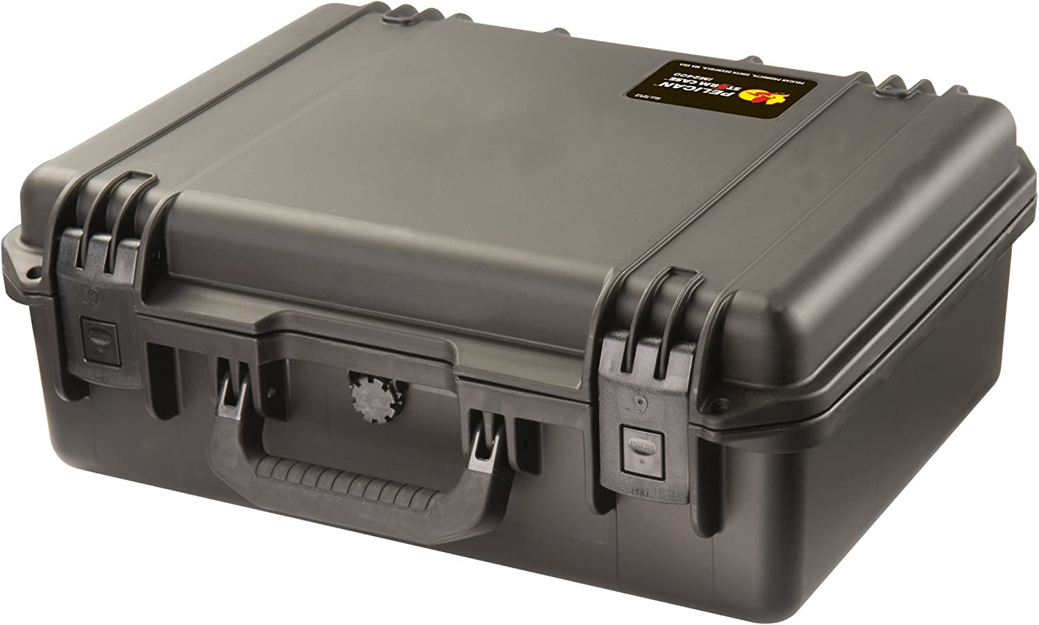 Waterproof Case (Dry Box)   Pelican Storm iM2400 Case with Padded Divider Set (Black)