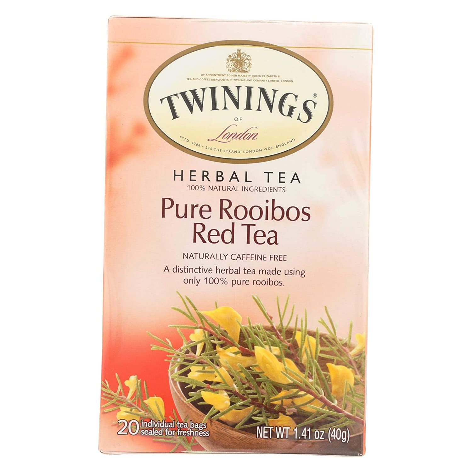 Twinings of Ranking TOP17 London African Outlet sale feature Rooibos Red Tea 120 Pack Of