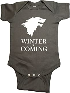 Game of Thrones Baby One Piece Winter is Coming Bodysuit
