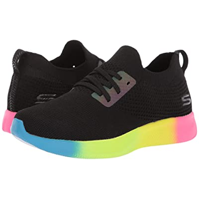 BOBS from SKECHERS Bobs Squad 2 Rainbow Rider (Black/Tan) Women