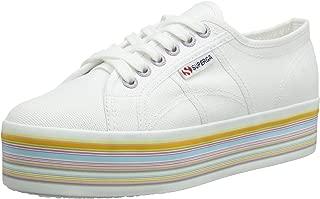 Superga 2790 Cotu Womens White Multicolour Trainers