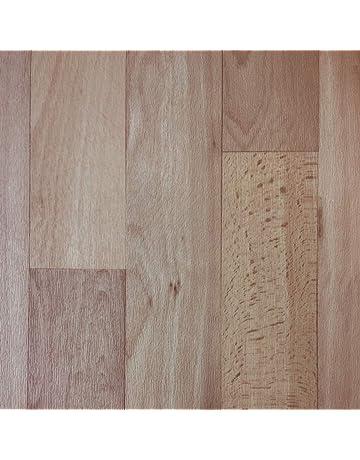 7,45 €//m² 1//2 PVC Bodenbelag in grauen Planken - 2m Breite