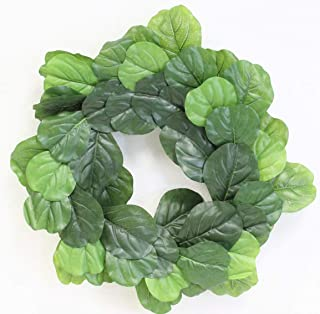 Bjh Artificial Green Leaves Wreath