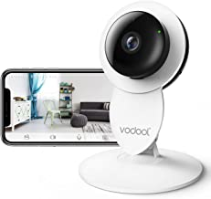 Vodool 1080p Home Camera, Indoor IP Surveillance Home Security Camera System Night Vision, Wireless Wi-Fi Remote Monitor iOS & Android App, Clear Two-Way Audio, Motion Detection Alert (White)