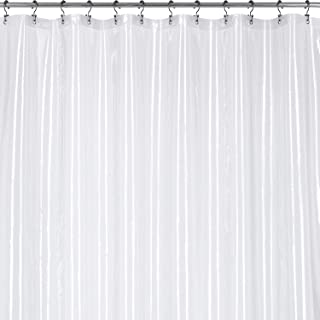 Utopia Bedding 10 GUAGE Heavy Duty Clear Shower Curtain Liner 72 by 72 Inches - Odor Less and Non-Toxic - Rust Proof Grommets