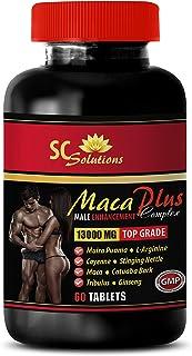 Male Herbal Enhancement Pills for Men - MACA Plus Complex - Male Enhancement - maca Complex - 1 Bottle 60 Tablets