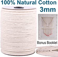3 strand cotton rope