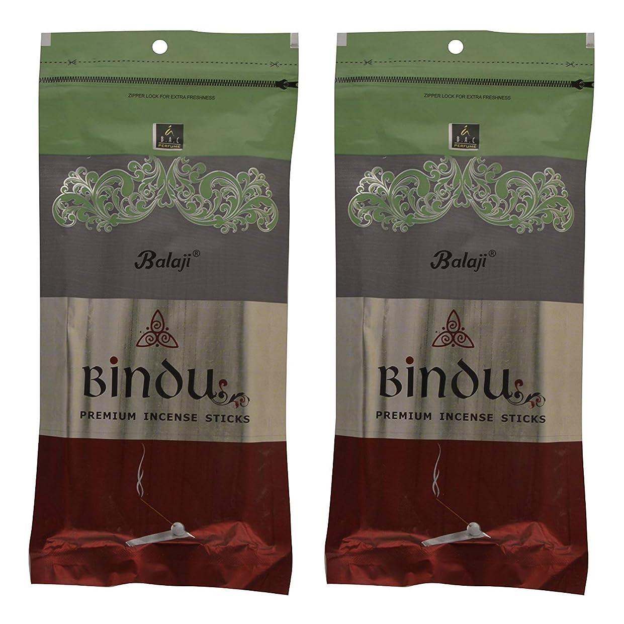 思いやりのある陪審どこかBalaji Bindu Bamboo Incense Sticks (8 cm, 120 g, Black, Pack of 2)