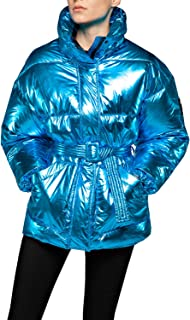 Replay Women's Metalized Puffer Jacket
