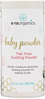 Baby Powder Talc Free - USDA Certified Organic Dusting Powder for Excess Moisture & Chafing That's Actually Good for Your ...