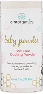 Baby Powder Talc Free – USDA Certified Organic Dusting Powder for Excess Moisture..