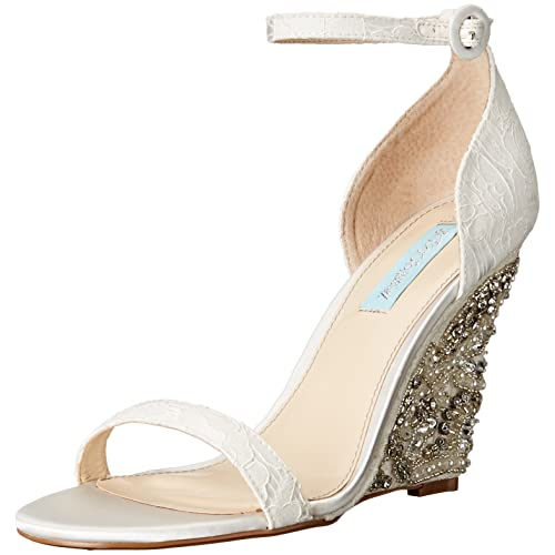 c446f8b0eb0 Blue by Betsey Johnson Women s Sb-alisa Wedge Sandal