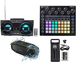 Novation CIRCUIT Groove Box Music Controller Pad/Drum Machine+2) Speakers+Mic