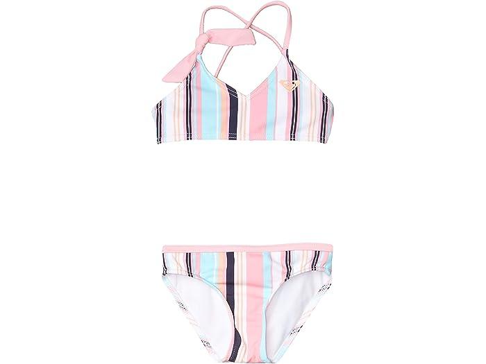 ROXY Girls Little Cutty Heart Tankini Swim Set