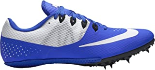 Zoom Rival S 8 Track Sprint Spikes Shoes Blue White Size 13 Mens