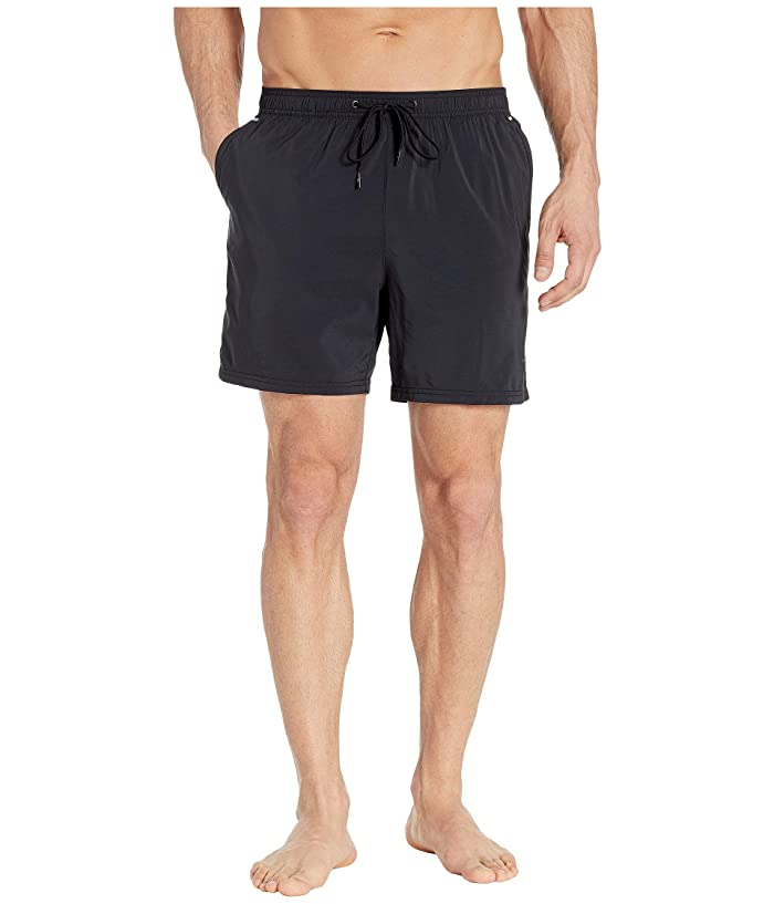 Tommy Bahama IslandActive(r) Naples Hybrid Swim Trunk (Black) Men