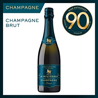 Maison de Grand Esprit | Cuvee Grand Esprit Champagne Brut | French AOC | Sparkling Wine To Enjoy with Dim Sum, 750ml