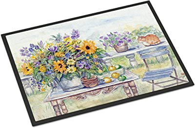 "Caroline's Treasures Patio Bouquet of Flowers Indoor or Outdoor Mat 24x36 APH3566JMAT, 24"" x 36"", Multicolor"