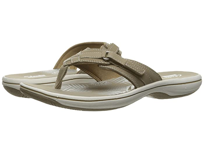 Clarks  Breeze Sea (Taupe) Womens Sandals