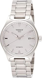 Men's T0604071103100 T-Tempo Analog Display Swiss Automatic Silver Watch