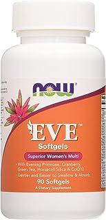 Now Foods Eve Múltiples Vitaminas Para Mujeres 90 Unidades 230 g