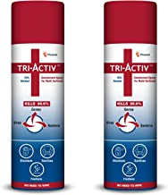 Tri-Activ Disinfectant Spray for Multi-Surfaces | 70% Alcohol Based - 230 ml – Pack of 2