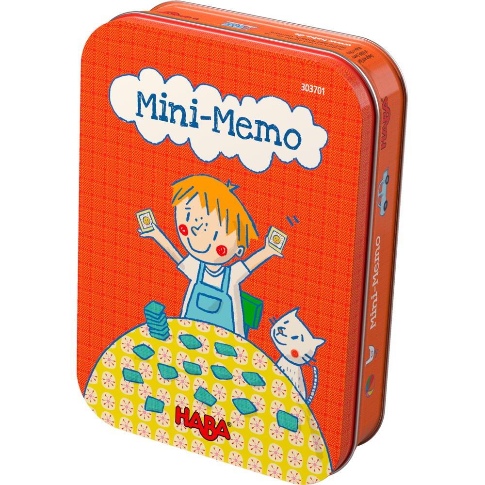Mini memo - juego de mesa para niños de HABA en castellano: Amazon.es: Juguetes y juegos