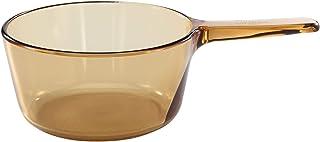 Visions 1.5 Liter Amber Glass Saucepan