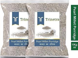 Trinetra Bajra Daliya (Pearl Millet Porridge)-1Kg (Pack of 2)