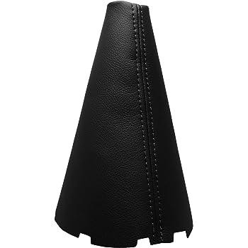 100/% Piel Costuras en Negro Funda Palanca de Cambio TOYOTA CELICA 1999-2006
