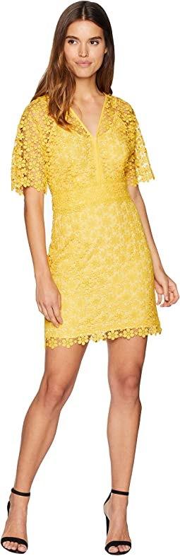 Lydia Guipure Lace Dress